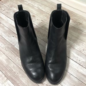Cole Haan Dabney Black Leather Bootie